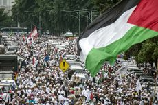 Aksi Bela Palestina yang Berbuah Petisi untuk Donald Trump