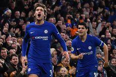 Hasil Liga Inggris, Tandukan Morata dan Alonso Menangkan Chelsea