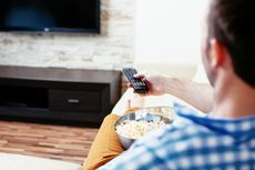 Godaan Iklan Makanan di TV Bikin Gemuk