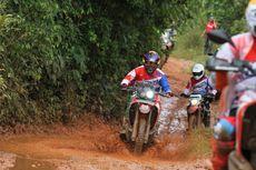 Ratusan Biker Honda Bertualang Serpong-Sukabumi