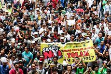 """Bermasalah dengan Taksi Konvensional, Pengemudi Angkutan """"Online"""" Unjuk Rasa ke DPRD Riau"""