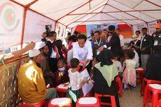 Di Bangladesh, Presiden Jokowi Serahkan Bantuan untuk Pengungsi Rohingya