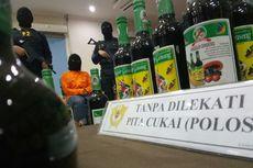 Produksi Ribuan Miras Ilegal, Seorang Ibu di Bandung Ditangkap