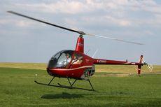 Helikopter Tabrak Pohon dan Jatuh setelah Hindari Drone