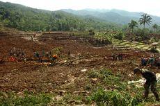 Foto-foto Terkini di Lokasi Longsor Brebes, 13 Orang Masih Hilang