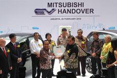 Mitsubishi Serahkan Mobil Listrik ke Kementerian, ESDM Absen