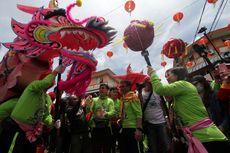 Ritual Buka Mata 9 Naga Meriahkan Cap Go Meh di Singkawang