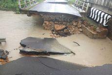 Banjir di Bangka Barat, Jembatan Putus dan Jalan Ambruk