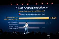 Asus Bandingkan ZenFone Max Pro M1 dengan Redmi Note 5