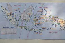 Kabel Optik Palapa Ring Akan Diulur di Perbatasan Indonesia-Malaysia