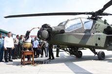 TNI AD Resmi Miliki 8 Helikopter Apache Buatan AS