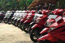 Jajal Skutik Suzuki Nex II Membelah Ibu Kota
