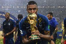Mbappe Putuskan Bertahan di PSG Setelah Bawa Perancis Juara Dunia