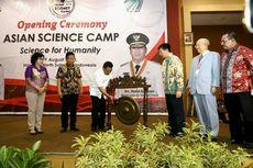 Gubernur Olly Buka Asian Science Camp 2018