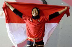 2 Pemanjat Tebing Indonesia Raih Medali Emas Kejuaraan Dunia di China