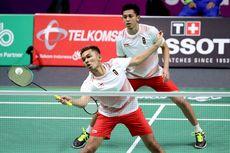 Malaysia Masters 2019, Pasangan Tuan Rumah Tekuk Fajar/Rian