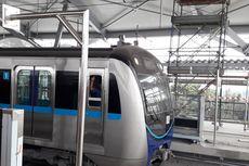 Seluruh Rangkaian Kereta MRT Tiba di Jakarta Sebelum Desember 2018