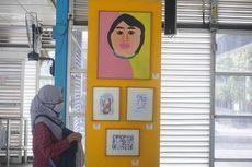 Tertarik Membeli Lukisan ODGJ di Halte Harmoni, Warga Bisa Hubungi Pihak RS
