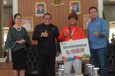 Raih Emas di Asian Games, Atlet Panjat Tebing Sumsel Hinayah Sumbang 2,5 Persen Bonus untuk Zakat