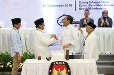 Jokowi Sebut Elektabilitasnya terhadap Prabowo-Sandi Unggul 20 Persen