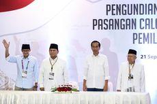 Dana Awal Kampanye, Jokowi-Ma'ruf Rp 11 Miliar, Prabowo-Sandiaga Rp 2 Miliar