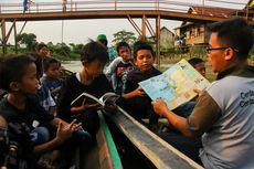 Rumah Belajar Ceria, Banjiri Pesisir Sungai Musi dengan Gairah Membaca (1)