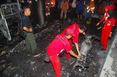 SPBU Warung Jambu di Bogor Terbakar, Warga Berlarian, 2 Sepeda Motor Hangus