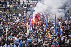 Tanggapi Sanksi PSSI, Suporter Persib Gelar Aksi Damai di Bandung