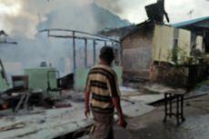 20 Rumah Liar di Belakang SD Al-Alzhar Hangus Terbakar Dalam Hitungan Menit