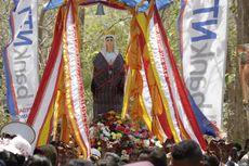 Cerita Wisata Religi di Malaka. Pengarakan Patung Bunda Maria