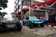 Tim Ekspedisi Mobil Listrik Blits dan Kasuari Tiba di Jakarta