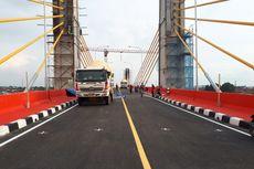 Kamis, Jembatan Musi IV Dioperasikan Selama 2 Hari