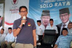 Kata Sandiaga soal PKS, PAN, dan Demokrat yang Belum Sumbang Dana Kampanye