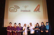 Fasilitas Hiburan Sriwijaya Air Tersedia di Pesawat Boeing 737-800 NG