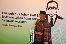 Presiden Hadiri Syukuran HUT Ke-72 HMI di Rumah Akbar Tandjung