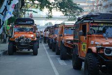 Peserta Offroad IOX 2019 Andalas Memulai Petualangan dari Medan