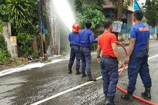 Damkar Pekanbaru Evakuasi Sarang Tawon yang Mengganggu Pengguna Jalan