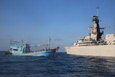 TNI AL Kembali Tangkap Kapal Vietnam yang Curi Ikan di Laut Natuna