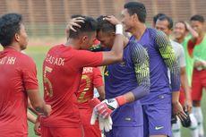 Kiper Timnas U-22 Indonesia Terus Asah Kemampuan Susun Serangan