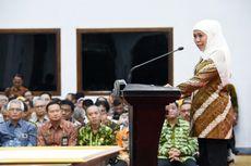 Khofifah Bersama Seluruh Kepala Daerah di Jatim Teken Komitmen Berantas Korupsi