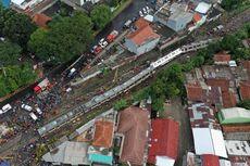 Penyebab Anjloknya KRL di Bogor, Menurut Keterangan Para Saksi...