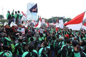 Alasan Ojek 'Online' Demo Saat Pembukaan Asian Games