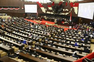 Pidato, Ketua DPR Keliru Sebut Nama Belakang Megawati