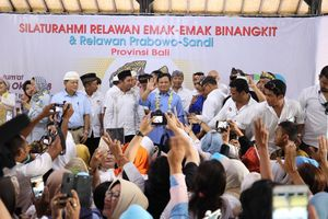 Prabowo: Hotel-hotel yang Besar Itu Milik Orang Bali atau Bukan?