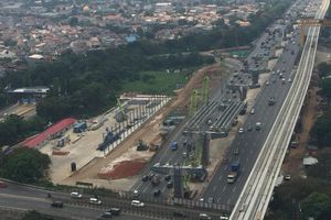 Ini Alasan Proyek Tol Layang Jakarta-Cikampek Tak Dihentikan