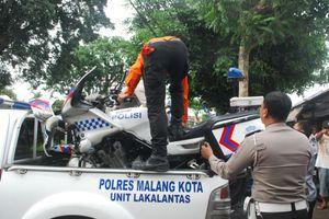 Anggota Patwal Polres Mojokerto Tewas Kecelakaan saat Kawal Konvoi Mobil