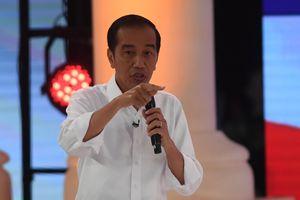 Jokowi Mengaku Tak Salahkan Prabowo soal Penguasaan Lahan Ratusan Ribu Hektar