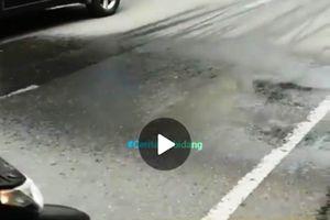 Viral Video Hujan Lokal Teraneh, Ini Tanggapan BMKG