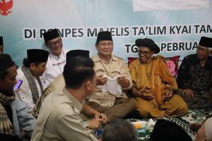 Pimpinan Thoriqoh Syathoriyyah Nyatakan Dukungan kepada Prabowo