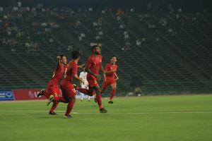 Indonesia Vs Kamboja, Menang 2-0, Garuda Muda Lolos ke Semifinal